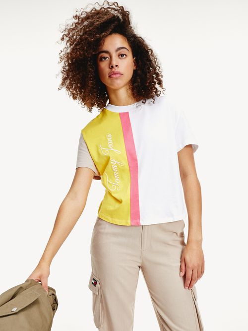 PLAYERA-COLOR-BLOCK-DE-CORTE-CROPPED-Tommy-Hilfiger