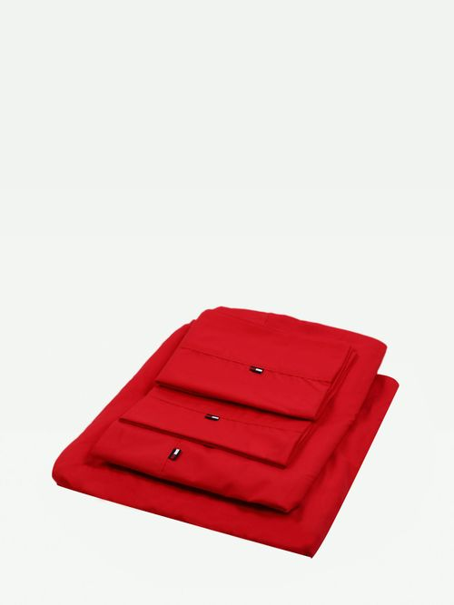 JUEGO-DE-SABANAS-22TH0956-COLOR-ROJO-QUEEN-Tommy-Hilfiger