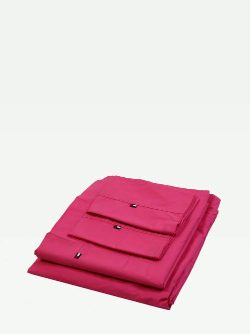 JUEGO-DE-SABANAS-TH0892-COLOR-ROSA-QUEEN-Tommy-Hilfiger