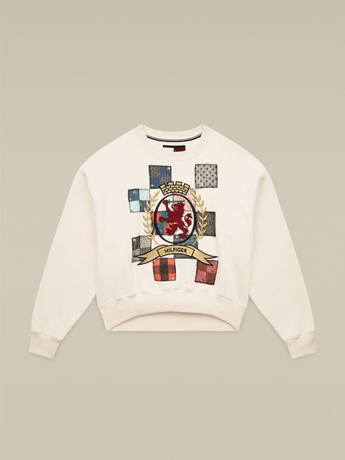 SUDADERA-CON-PATCHWORK-HILFIGER-COLLECTION-Tommy-Hilfiger
