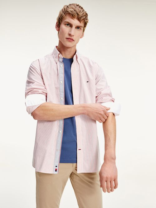 CAMISA-OXFORD-TH-FLEX-DE-RAYAS-Tommy-Hilfiger