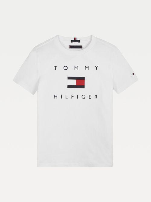 PLAYERA-DE-ALGODON-ORGANICO-CON-LOGO-PARA-NIÑO-Tommy-Hilfiger