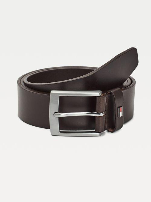 Cinturon-de-piel-con-hebilla-cuadrada-Tommy-Hilfiger