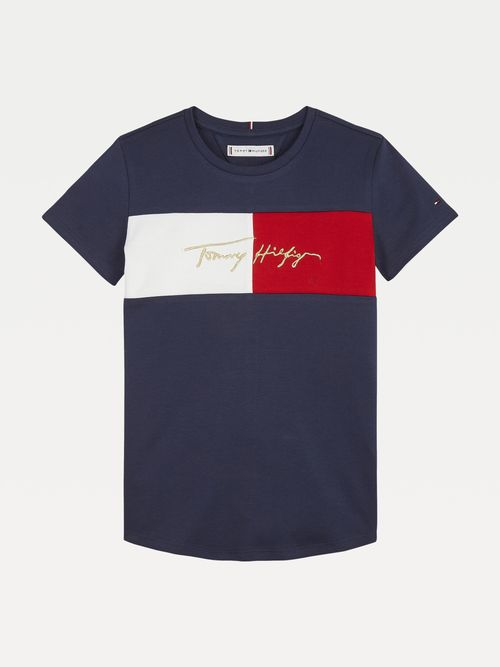 PLAYERA-TOMMY-TOMMY-ICONS-CON-DISEÑO-COLOR-BLOCK-Tommy-Hilfiger