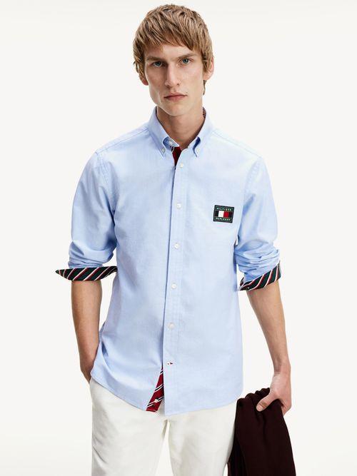 Camisa-TH-Flex-con-logo-Tommy-Hilfiger