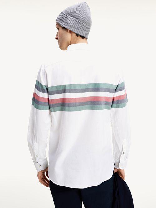 Camisa-Tommy-Icons-con-diseño-de-rayas-Tommy-Hilfiger