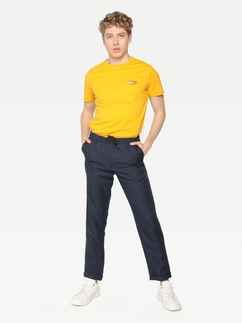 Pantalon-de-cuadros-Principe-de-Gales-y-cintura-con-cordon-Tommy-Hilfiger
