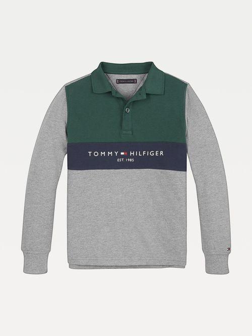 Polo-de-algodon-organico-con-manga-larga-Tommy-Hilfiger
