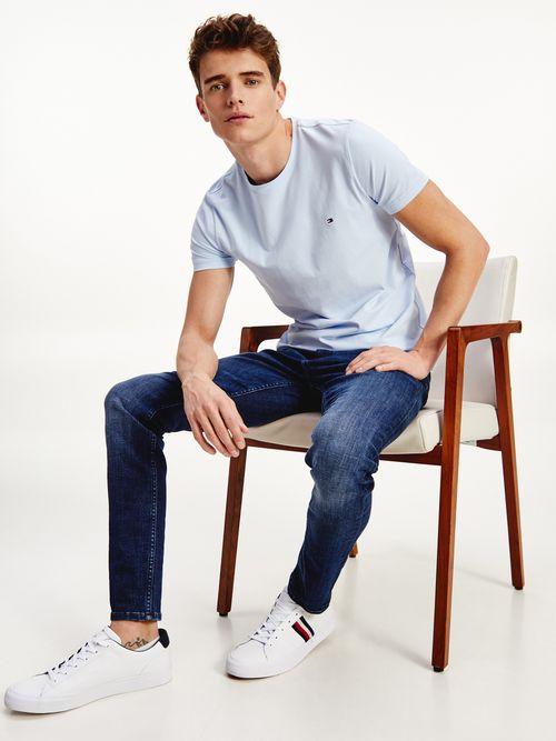 Camiseta-en-algodon-organico-de-corte-slim-Tommy-Hilfiger