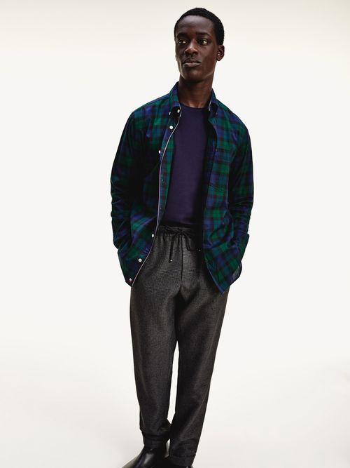 Camisa-TH-Flex-de-cuadros-y-corte-regular-Tommy-Hilfiger