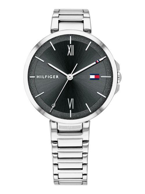 Reloj-Classic-plata-con-negro-Tommy-Hilfiger