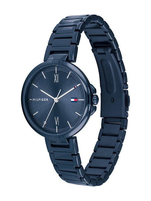 Reloj-Classic-azul-metalico-Tommy-Hilfiger