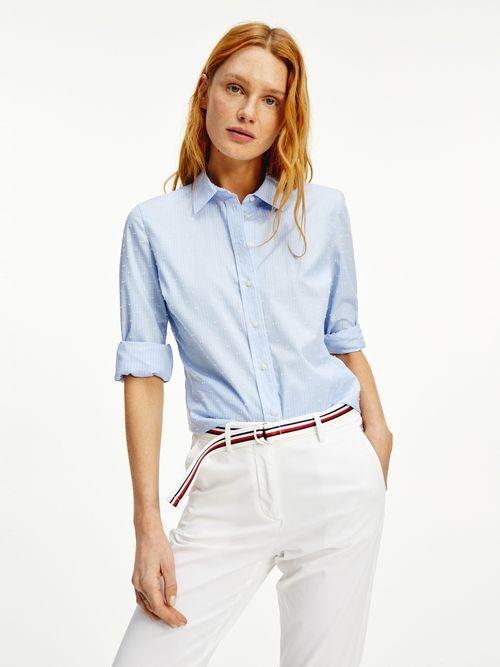 Camisa-de-rayas-y-lunares-en-puro-algodon-Tommy-Hilfiger