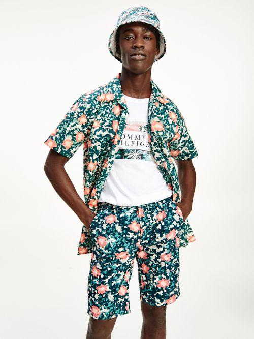 Camisa-de-manga-corta-de-camuflaje-Tommy-Hilfiger