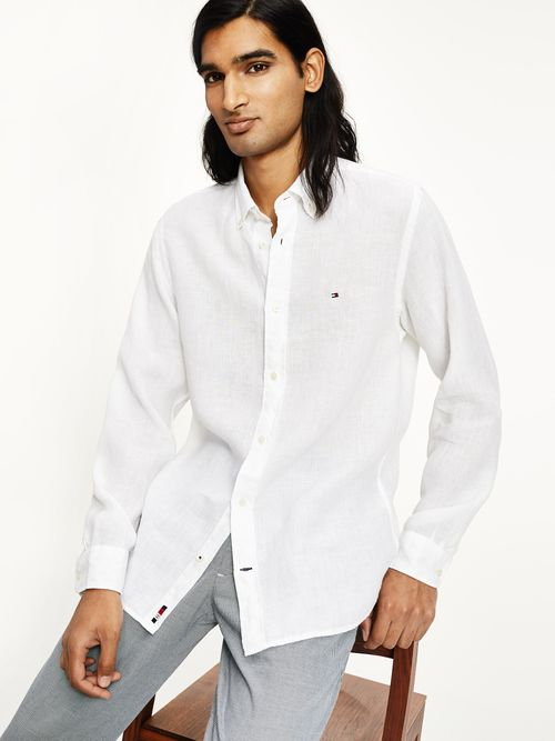 Camisa-de-lino-teñida-con-pigmentos-Tommy-Hilfiger