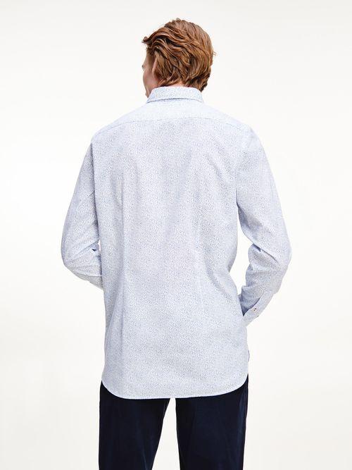 Camisa-con-estampado-de-flores-de-corte-slim-Tommy-Hilfiger