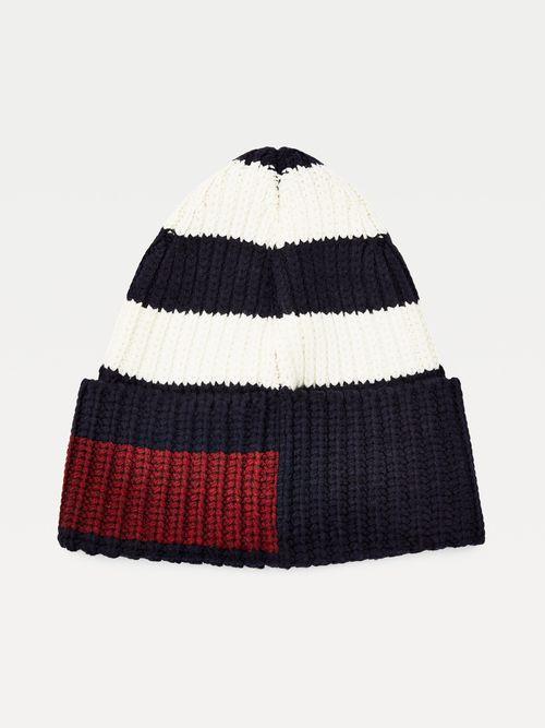 Gorro-de-punto-de-lana-con-escudo-bordado-Tommy-Hilfiger