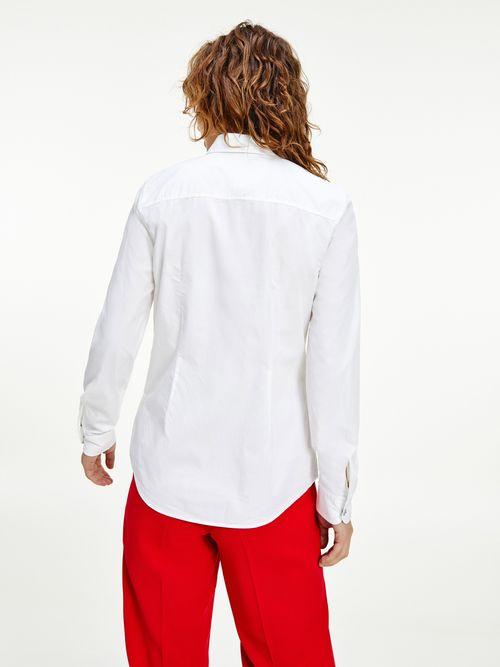 Camisa-de-algodon-con-logo-con-la-firma-Tommy-Hilfiger