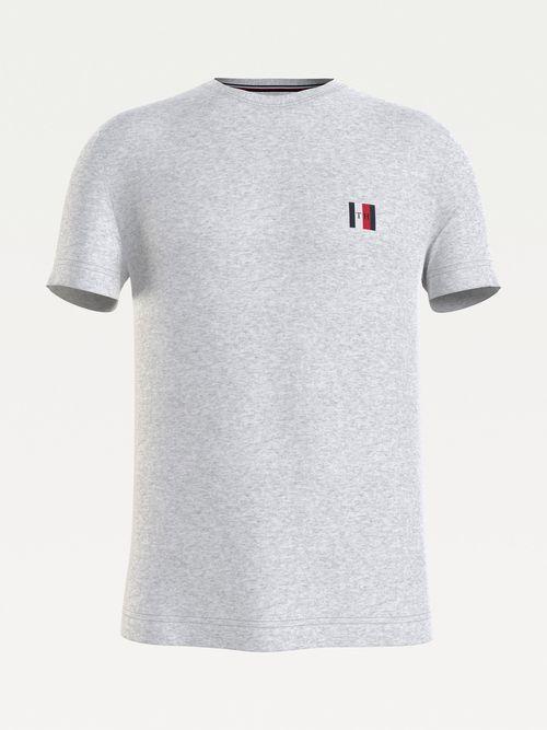 Camiseta-Essential-con-paneles-y-monograma-Tommy-Hilfiger