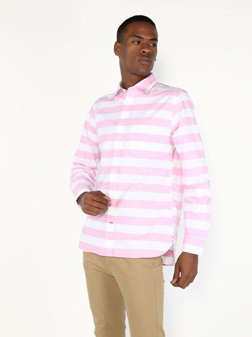 Camisa-con-estampado-de-rayas-anchas