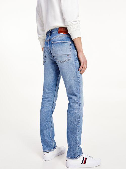 Jeans-Denton-rectos-con-efecto-desteñido-Tommy-Hilfiger