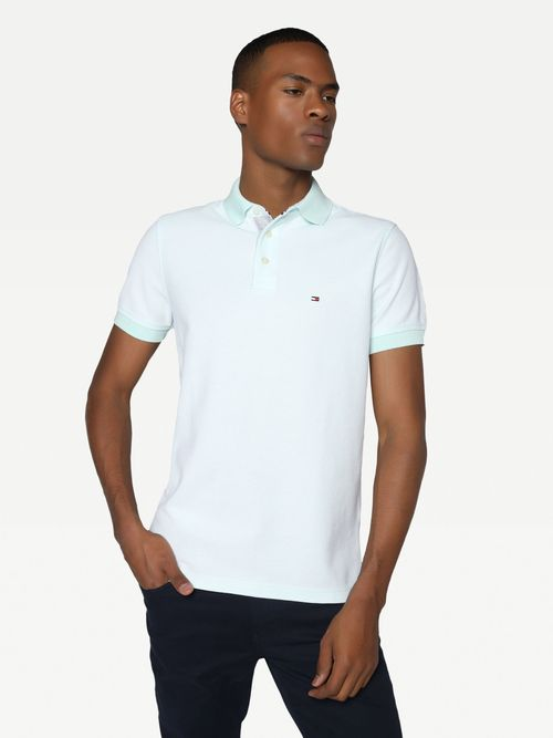 Polo-regular-con-textura-Tommy-Hilfiger