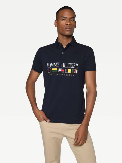Polo-regular-de-algodon-Tommy-Hilfiger