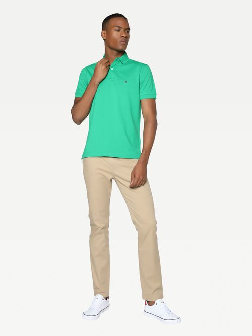 Polo-regular-de-algodon-Tommy-Hilfiger