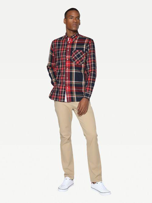 Camisa-de-cuadros-con-corte-amplio-Tommy-Hilfiger