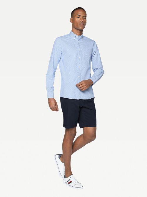Camisa-de-cuadros-pequeños-Tommy-Hilfiger