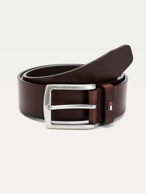 Cinturon-Denton-de-piel-con-logo-esmaltado-Tommy-Hilfiger