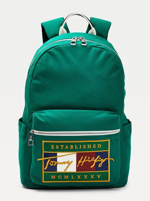 Mochila-Signature-con-logo-bordado-Tommy-Hilfiger