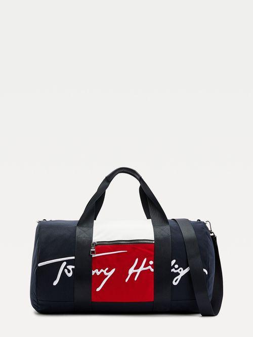 Bolsa-de-deporte-Signature-color-block-Tommy-Hilfiger