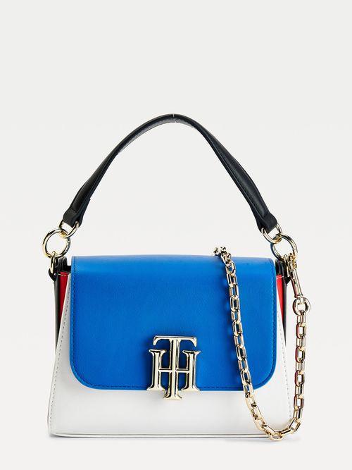Bolso-satchel-pequeño-con-diseño-tonal-Tommy-Hilfiger