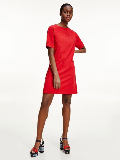 Vestido-corto-recto-con-cinta-distintiva-Tommy-Hilfiger