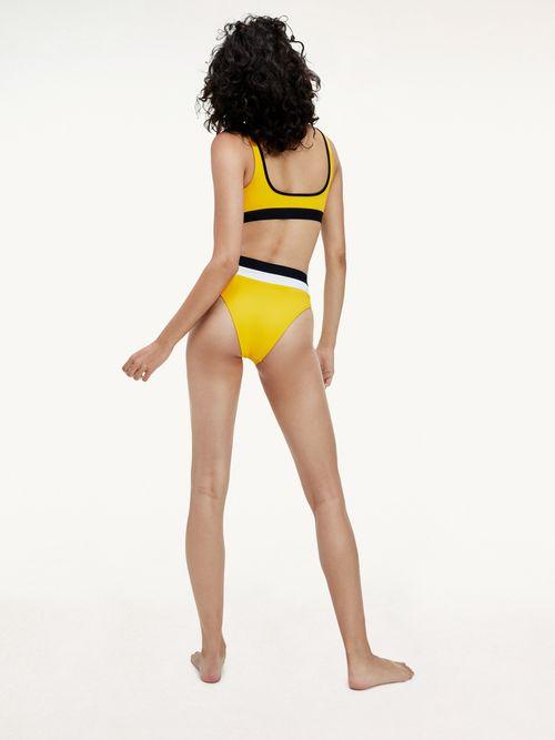 Parte-inferior-de-bikini-color-block-de-cintura-alta-y-corte-alto-Tommy-Hilfiger