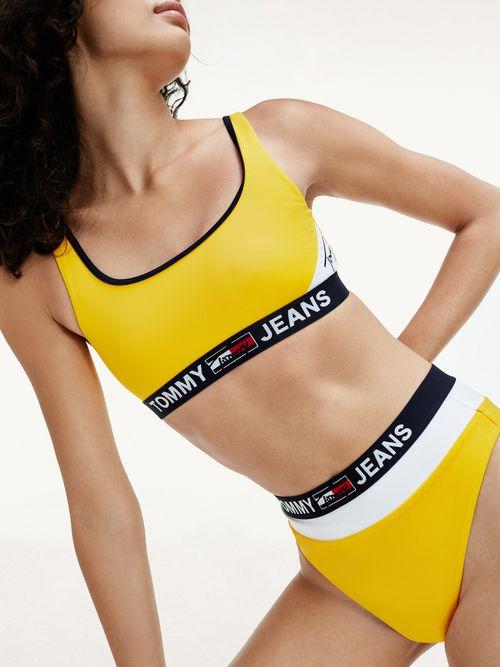 Parte-superior-de-bikini-estilo-bralette-Tommy-Hilfiger