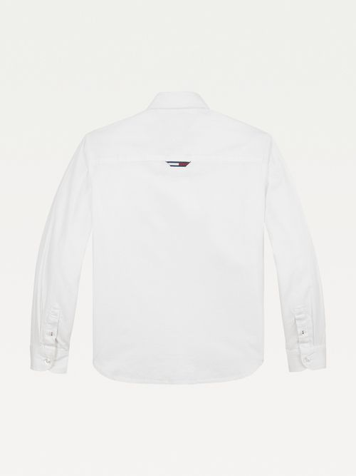 Camisa-Oxford-de-algodon-con-detalle-de-rayas-Tommy-Hilfiger