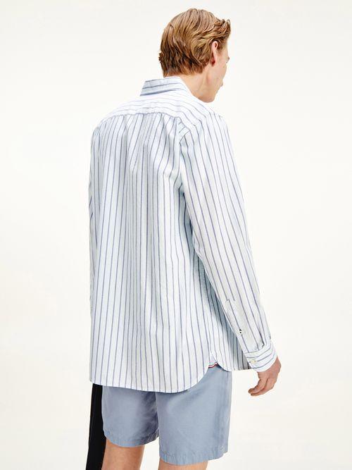 Camisa-Oxford-de-rayas-en-algodon-organico-Tommy-Hilfiger