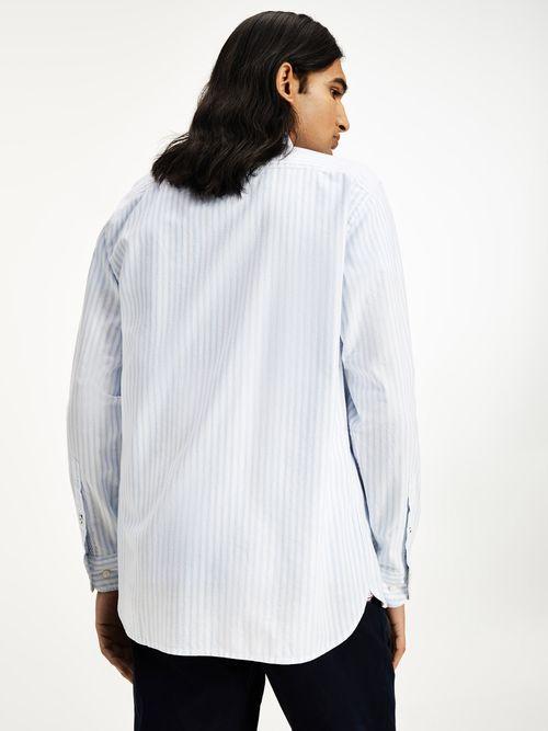 Camisa-Oxford-de-rayas-y-corte-regular-Tommy-Hilfiger