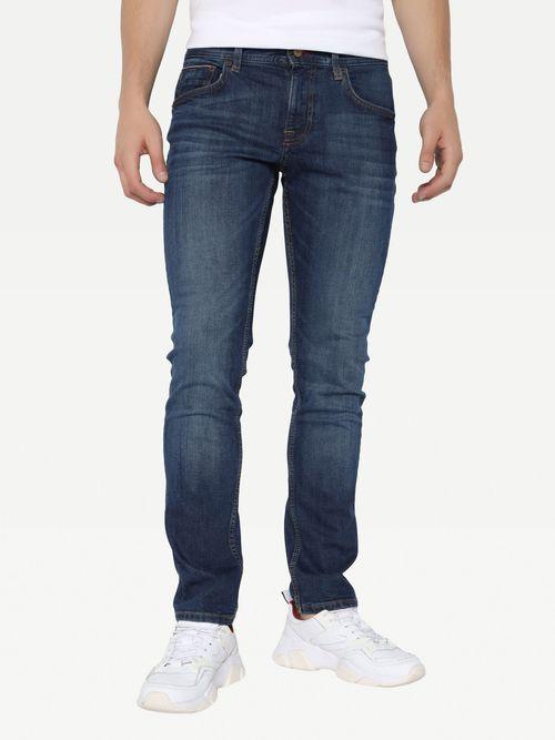 Jeans-rectos-Denton-de-mezclilla-obscuraTommy-Hilfiger