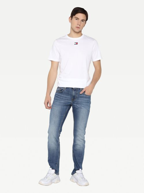Jeans-rectos-Denton-de-mezclilla-semiobscura-Tommy-Hilfiger