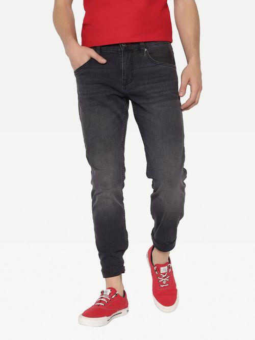 Jeans-rectos-Bleecker-jaspeados-Tommy-Hilfiger