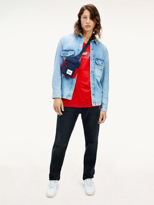 Jeans-Ethan-negros-de-corte-amplio-desgastados-Tommy-Hilfiger