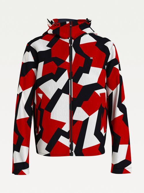 Chamarra-con-capucha-y-estampado-geometrico-Tommy-Hilfiger