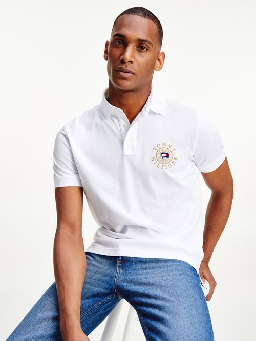 Polo-Tommy-Icons-con-logo-bordado-Tommy-Hilfiger
