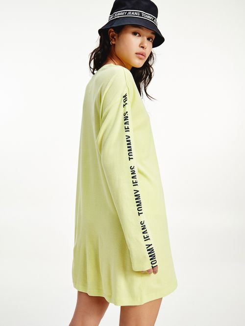 Vestido-camisero-de-manga-larga-Tommy-Hilfiger
