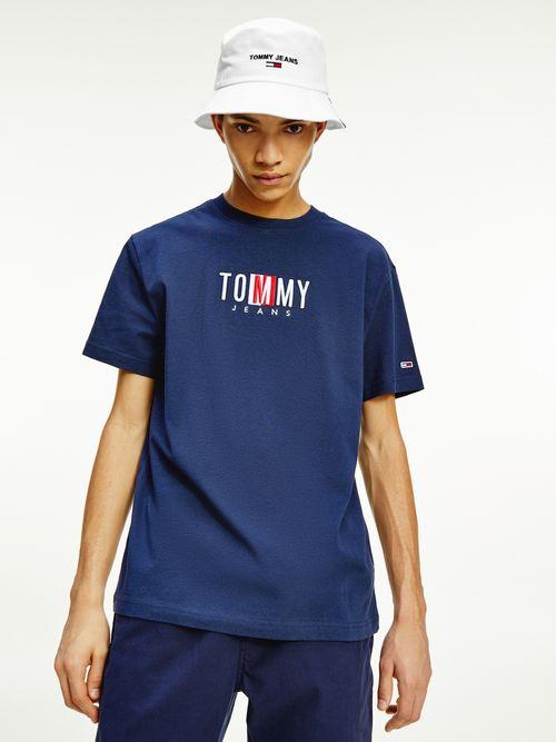 Playera-de-algodon-con-logo-a-contraste-Tommy-Hilfiger