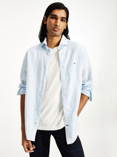 Camisa-de-puntos-dobles-y-corte-regular-Tommy-Hilfiger