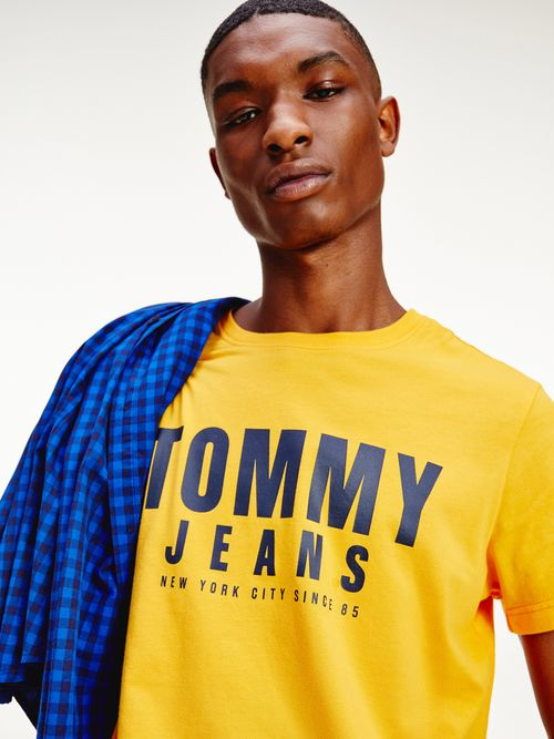 Camiseta-de-algodon-organico-con-logo-Tommy-Hilfiger